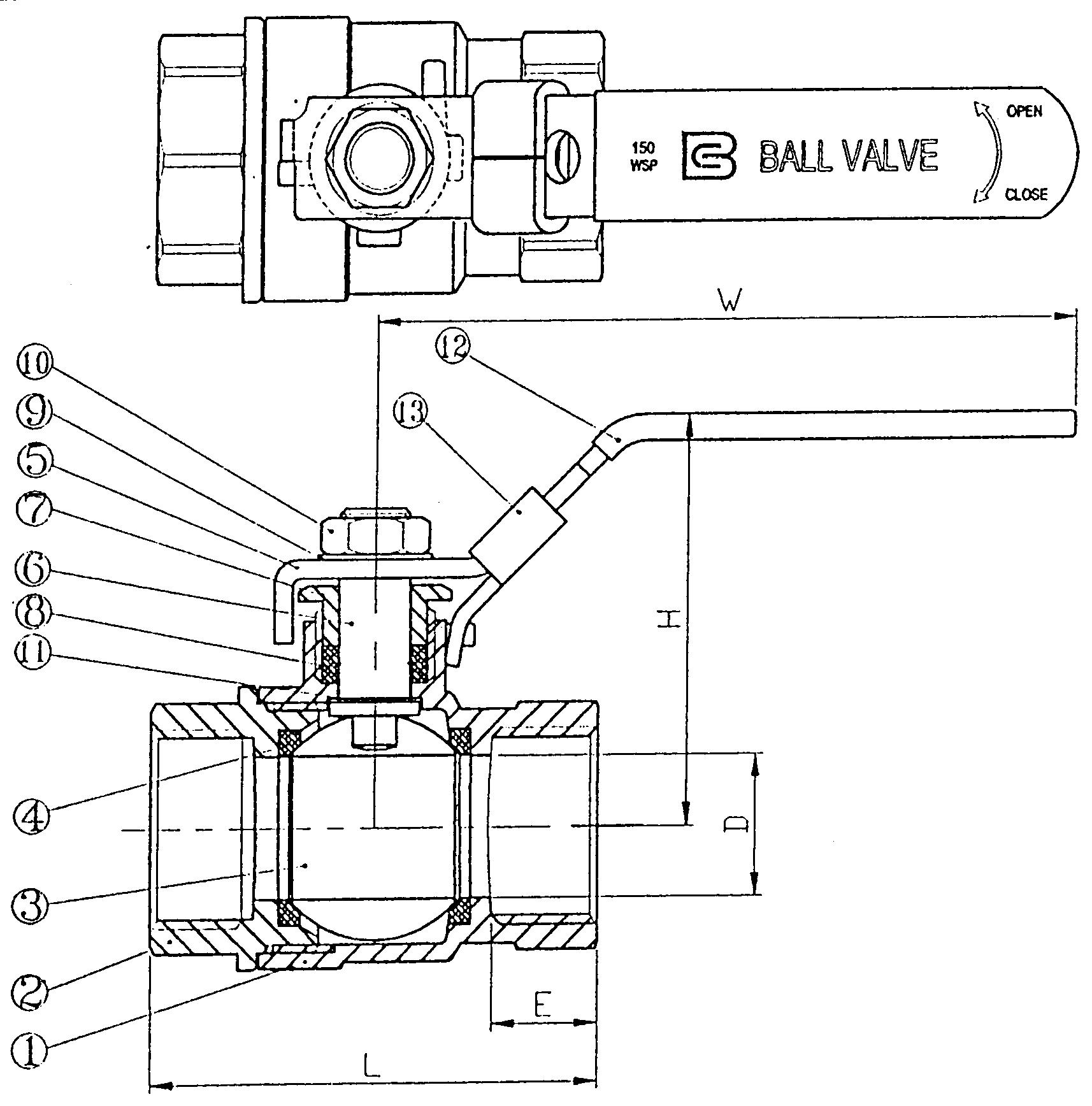 closed ball valve schematic symbol   475837
