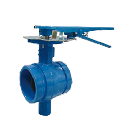 Grooved Butterfly Valve Lever Operated Refire Group