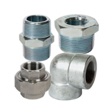 3000lb BSP Galvanised High Pressure Fittings – Repipe Connection