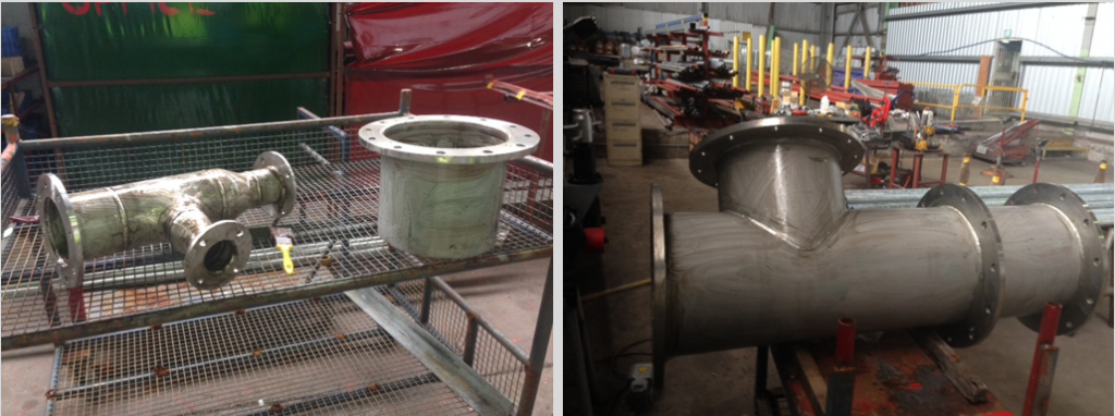 DN450 Stainless Steel Pipe Fabrication
